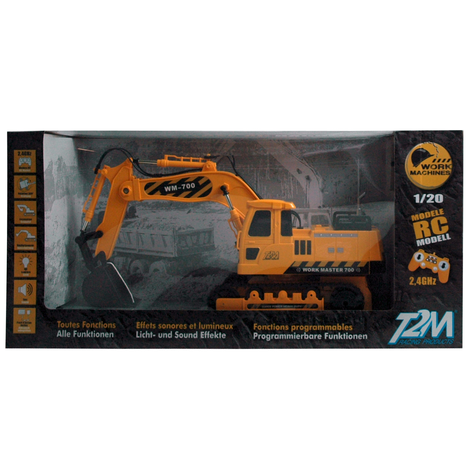 Hammer Bettwäsche Details About T2m Rc Shovel Excavator T700 With Led And Sound