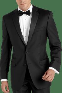 Calvin Klein Black Slim Fit Tuxedo - Men's Tuxedos | Men's ...