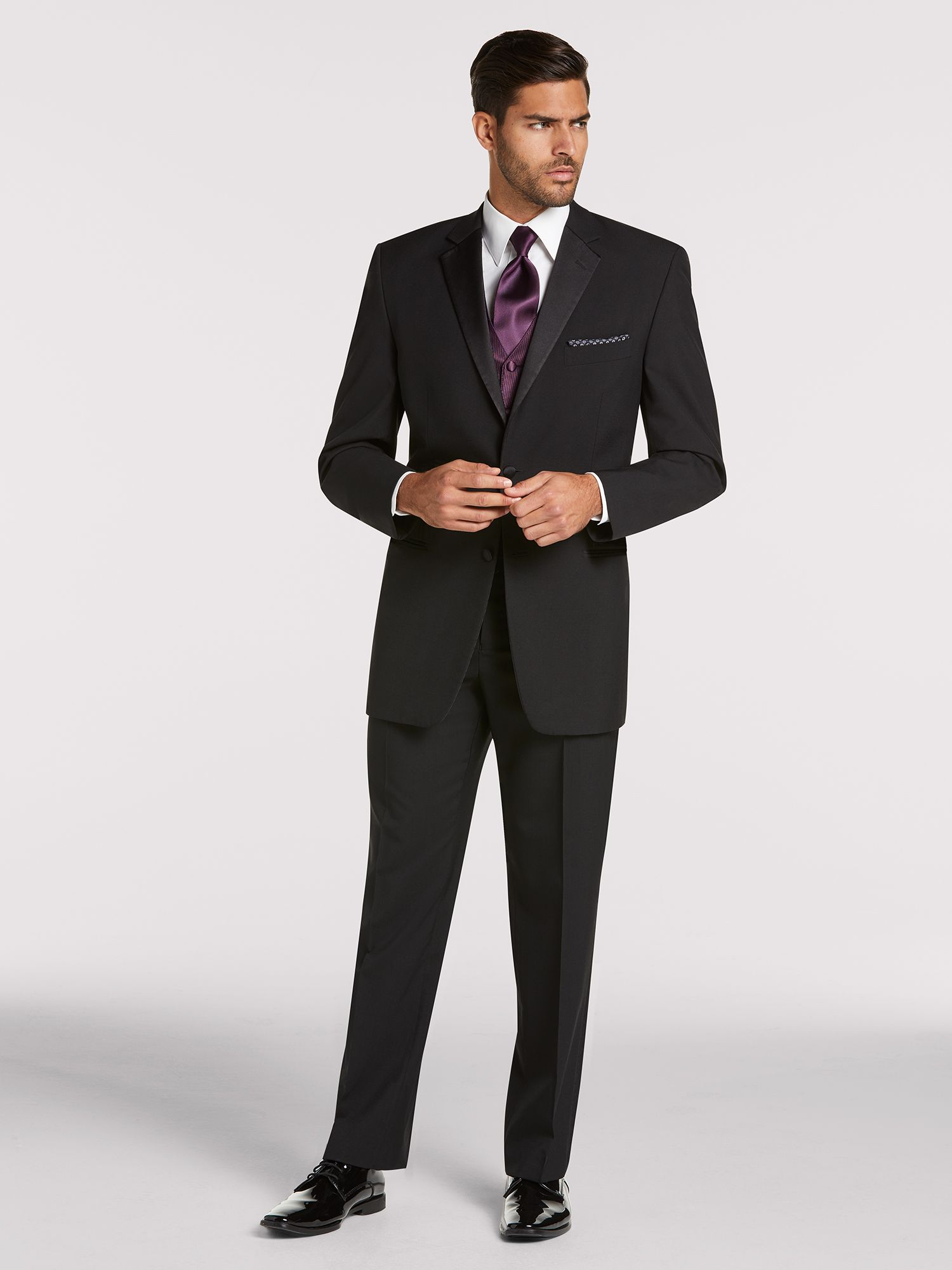 Joseph Und Joseph Joseph Feiss Black Notch Lapel