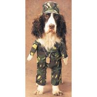 Army Dog Halloween Pet Costume