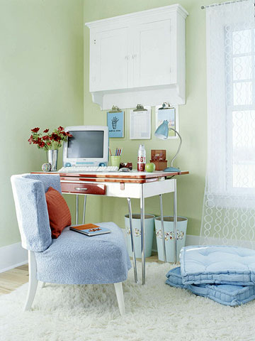 Home Office - home office ideas on a budget