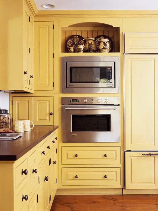 Yellow Kitchen Design Ideas - kitchen design stores