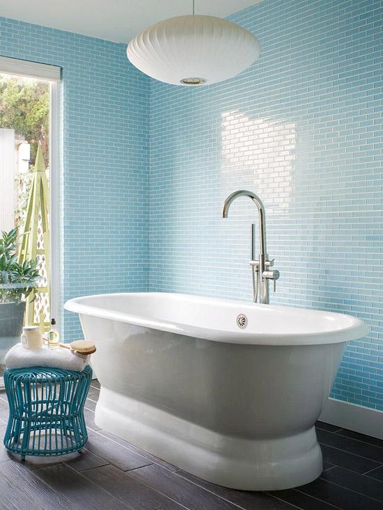 Blue Bathroom Design Ideas - blue bathroom ideas