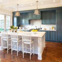 Blue Kitchen Cabinets