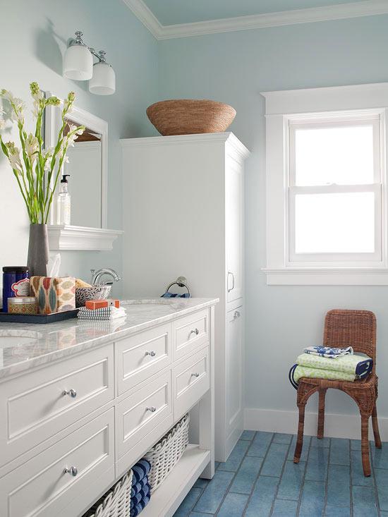 Small Bathroom Color Ideas - small bathroom paint ideas