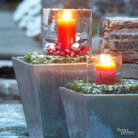 Decorazioni di Natale: il portico