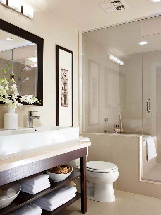 Small Bathroom Design Ideas - narrow bathroom ideas