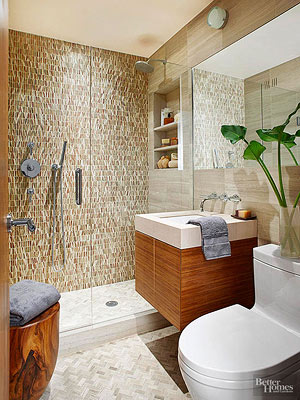 Walk-In Showers for Small Bathrooms - shower ideas for small bathroom