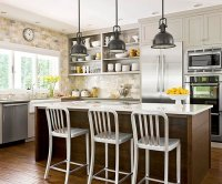 A Bright Approach To Kitchen Lighting - Short Mini Pendant ...