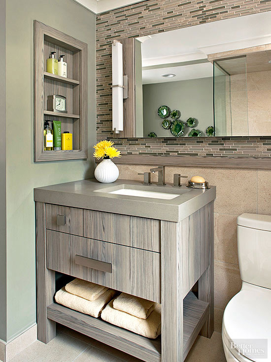 Small Bathroom Vanity Ideas - small bathroom cabinet ideas