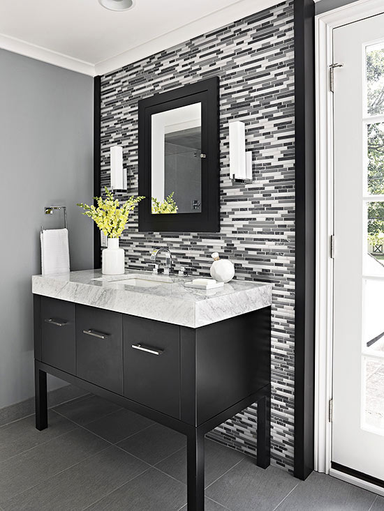 Single Vanity Design Ideas - small bathroom cabinet ideas