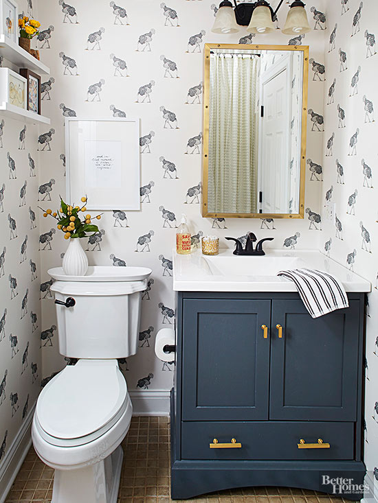 Bathroom Vanity Ideas - small bathroom cabinet ideas