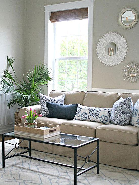 Cheap Decorating Ideas - cheap living room decor