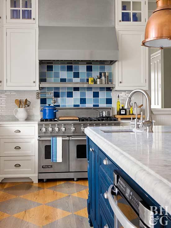 Fresh Ideas for Kitchen Floors - kitchen tile flooring ideas