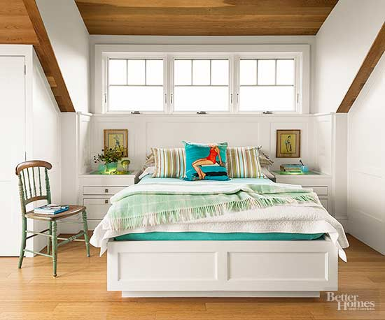 How to Decorate a Small Bedroom - ideas for a small bedroom