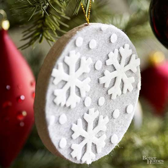 Felt Christmas Ornaments - felt christmas decorations