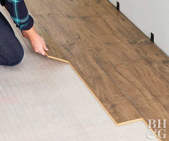 How To Install Glueless Laminate Wood Flooring Thefloorsco
