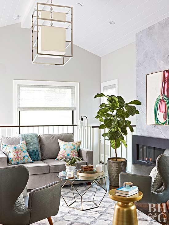 Gray Living Room Decorating