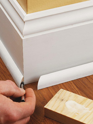 Base Shoe Molding How To Install Baseboard Molding