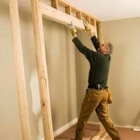 Framing for Closet Doors - How to Install House Doors. DIY ...