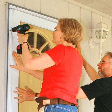 Installing A Storm Door - How To Install House Doors. Diy Advice