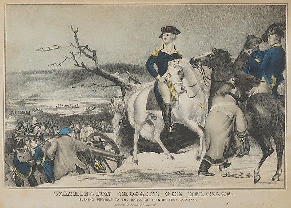 Lithographed and Published by Nathaniel Currier Washington