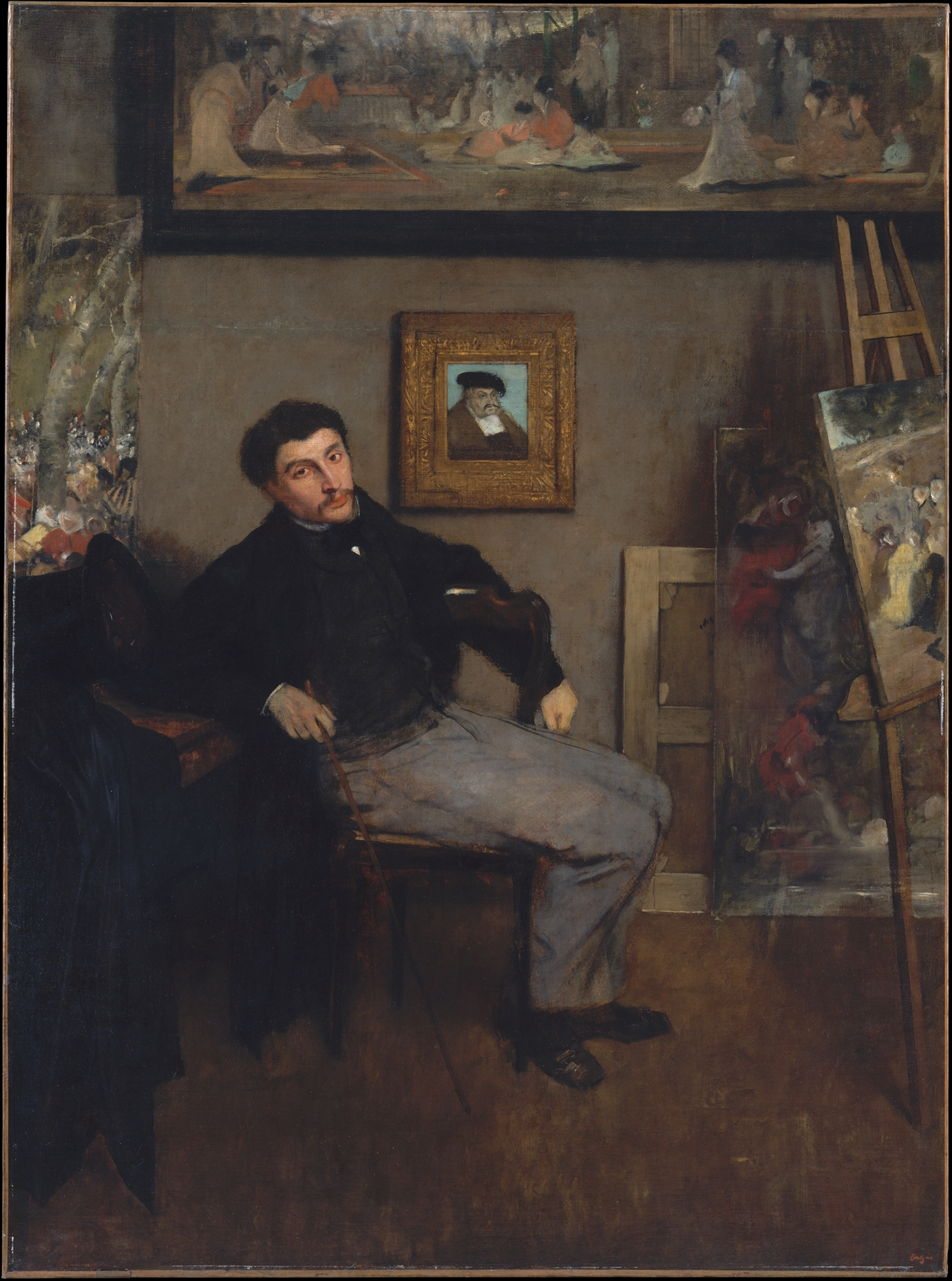 59 In Cm Edgar Degas | James-jacques-joseph Tissot (1836–1902