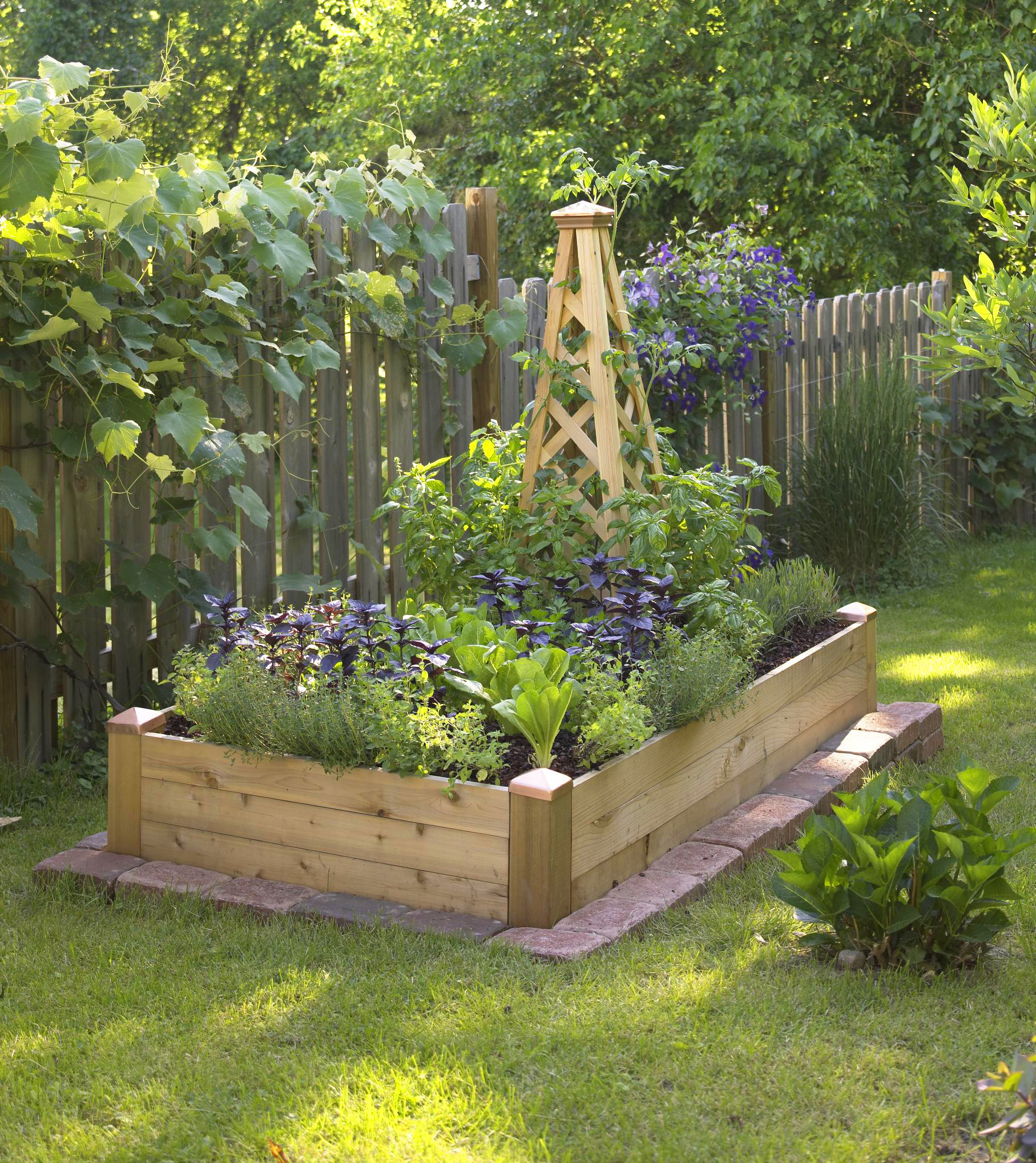 Plant Bed Small Space Gardening Build A Tiny Raised Bed Midwest