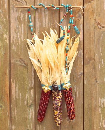 Fall Outdoor Decorations Wallpaper 18 Dried Corn Projects For Fall Decorating Midwest Living