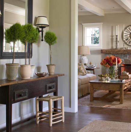 Farmhouse Style Living Room Decorating Ideas