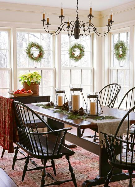 Kitchen Island Back Panel Ideas Colonial Christmas Decor Ideas | Midwest Living