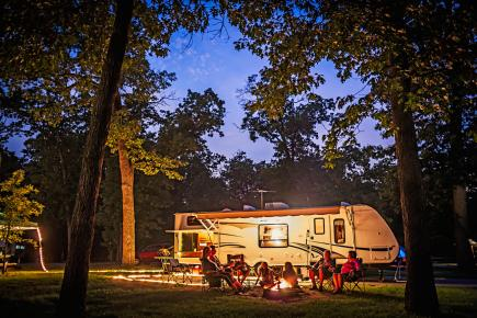 Fall Wooded Wallpaper 24 Best Midwest Campgrounds Midwest Living