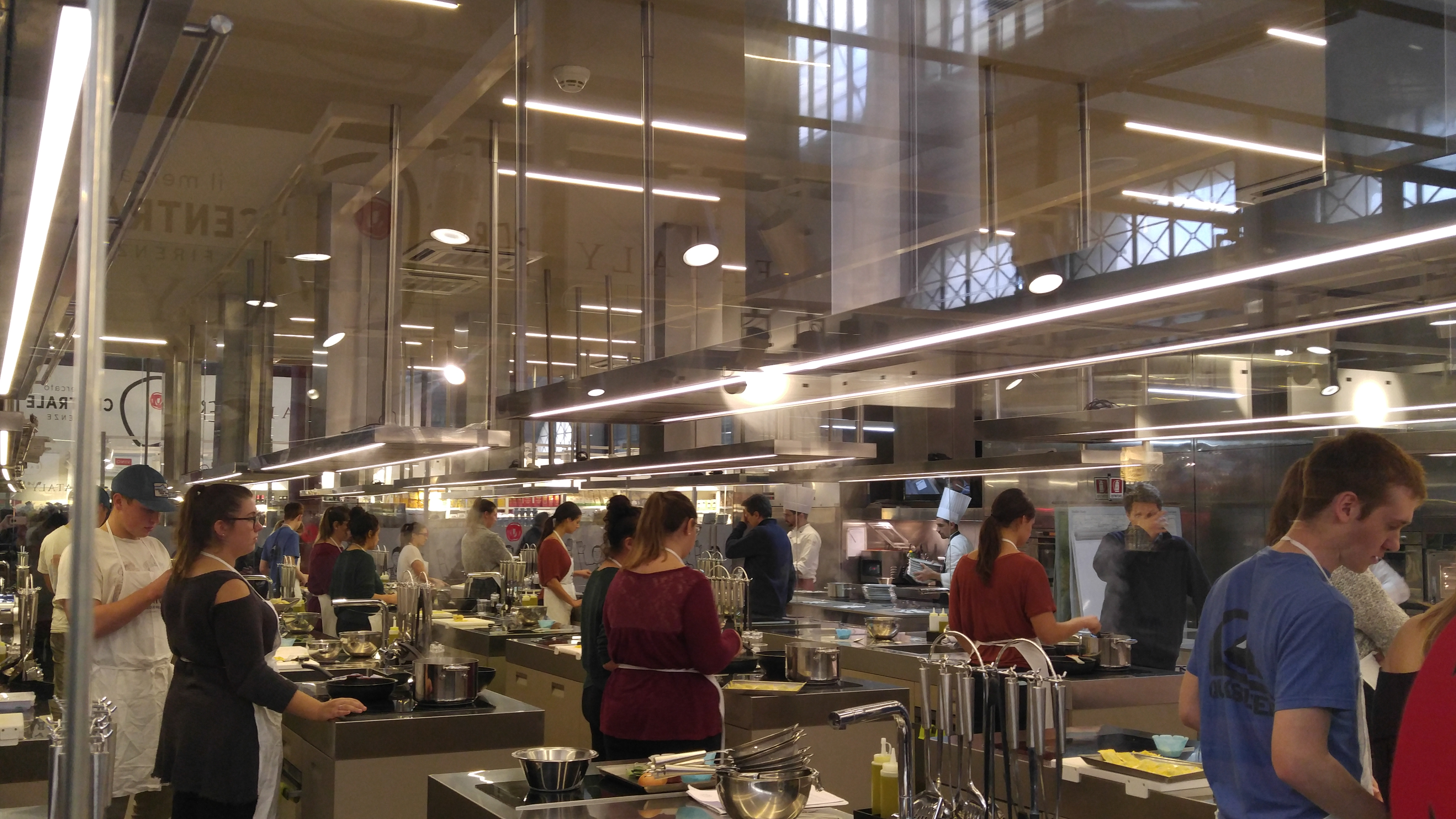 Cucina Lorenzo De Medici A New Approach To Eating The Mercato Centrale In Florence Italy