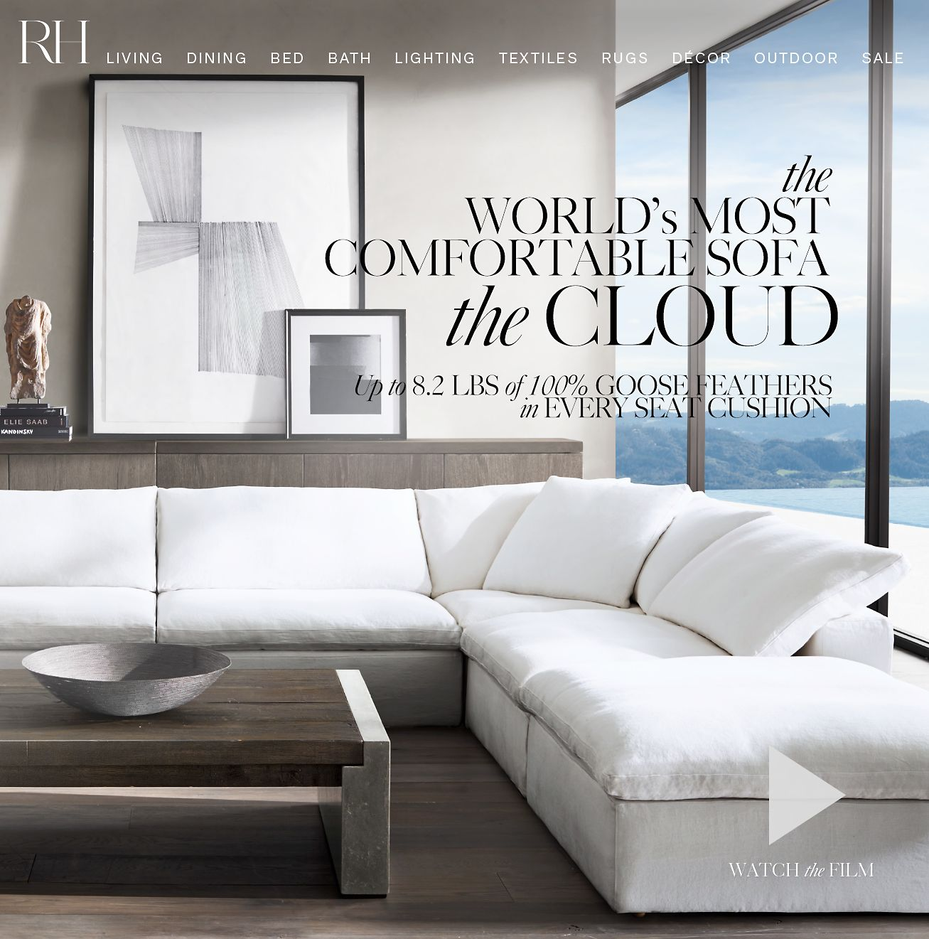 Rh Cloud Sofa Restoration Hardware The Cloud The World 39s Most