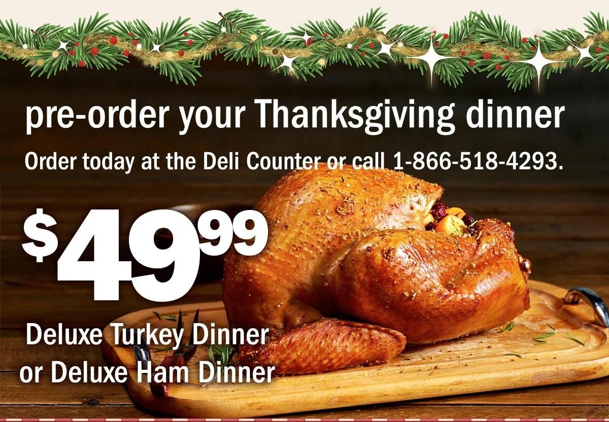 Meijer 4999 Thanksgiving Dinner 20 Off Deli Trays
