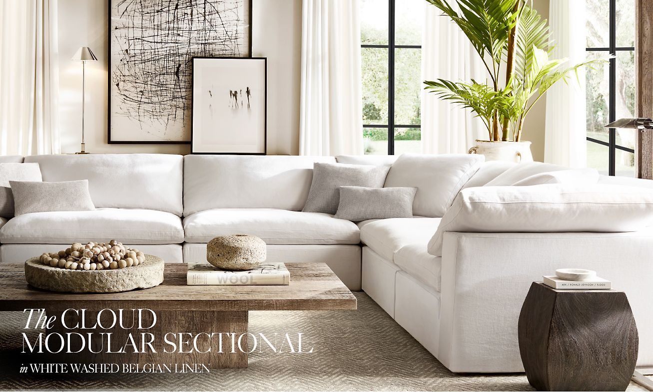 Rh Cloud Sofa Restoration Hardware Why Sit When You Can Float