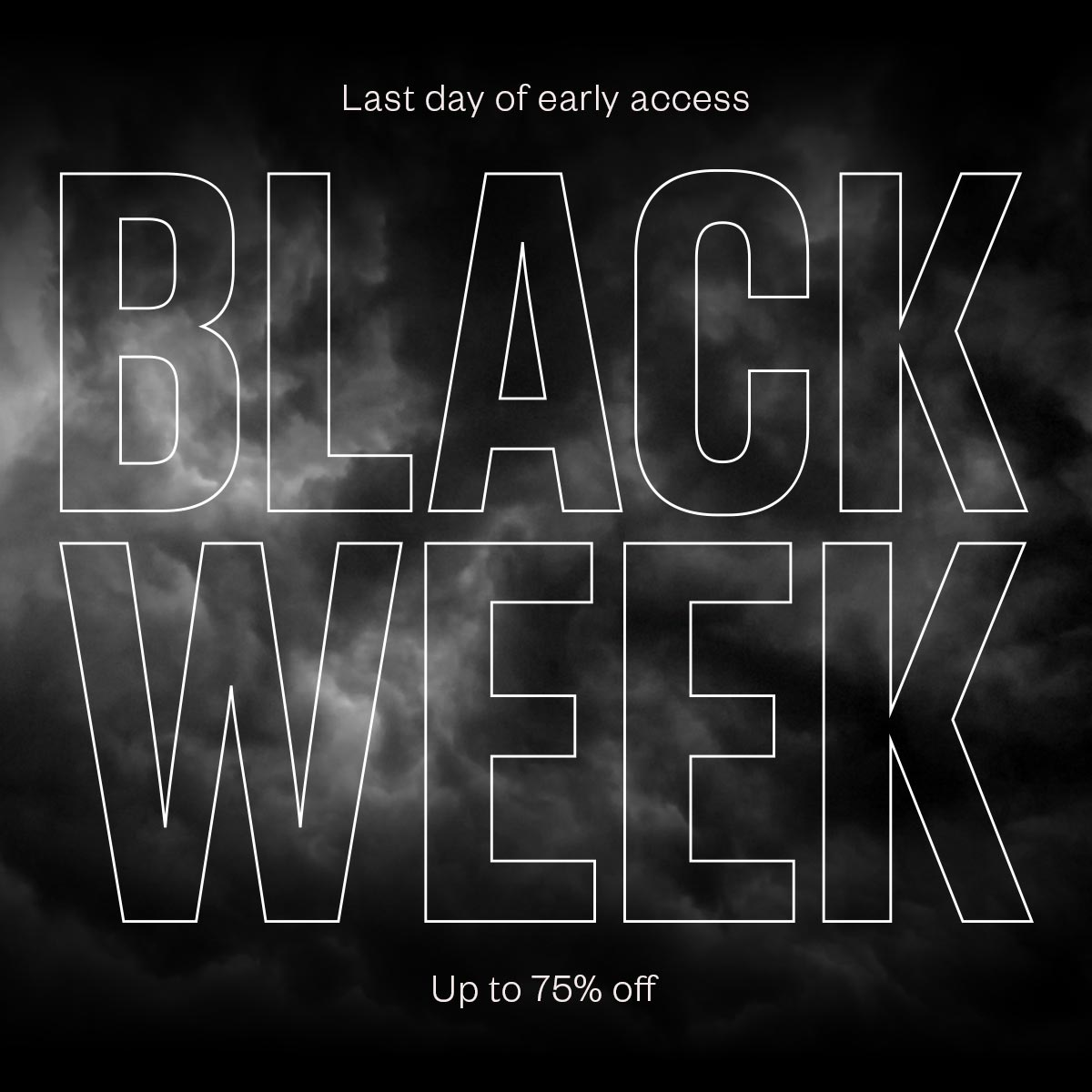 Black Week Sale Stutterheim Raincoats Black Week Officially Starts Tomorrow