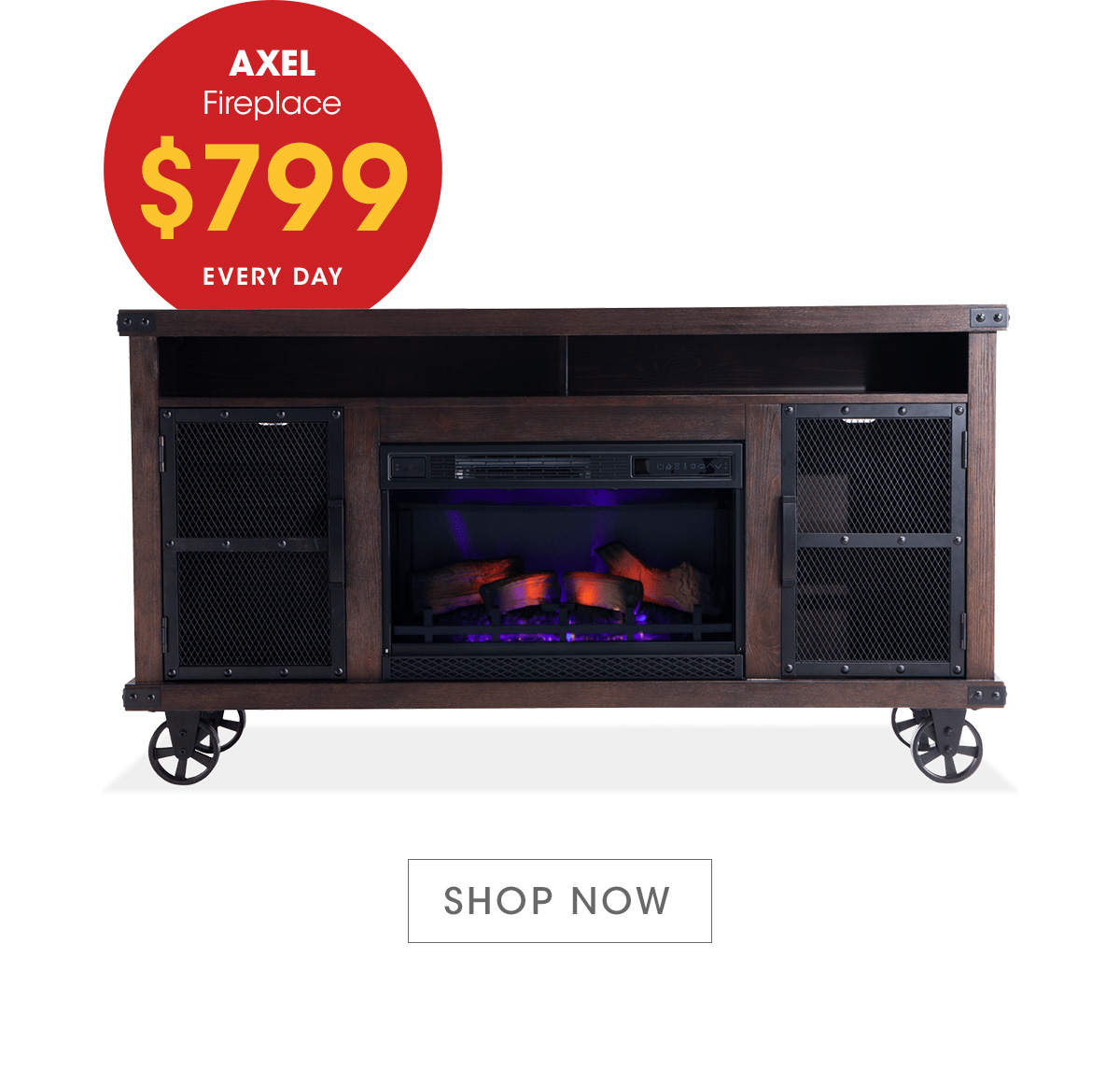 Bobs Fireplace Bobs Discount Furniture Turn Up The Heat With An Electric