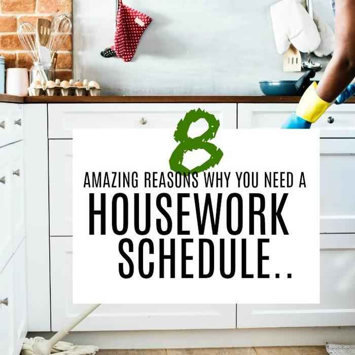 Mix · 8 Amazing Reasons Why You Need a Housework Schedule Right Now!