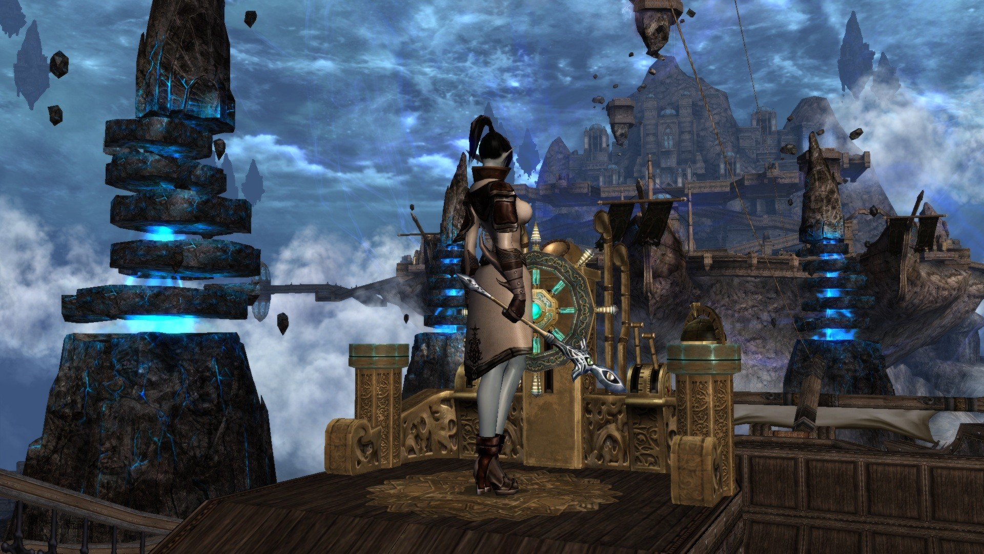 Dark Fall Wallpaper Airship To Gracia Continent Mmorpg Com Lineage 2 Galleries