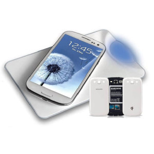 Samsung Galaxy S3 Qi Wireless Charging Plate Kit - White