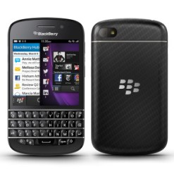 Image result for Blackberry Q10 BLACK