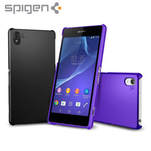 Spigen Ultra Fit Sony Xperia Z2 Case - Purple