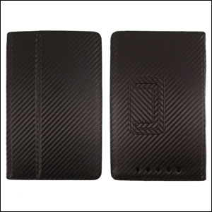 SD TabletWear Stand and Type case Google Nexus 7 - Carbon Fibre Black
