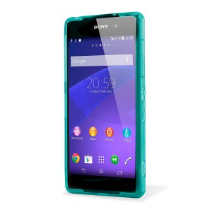 FlexiShield Skin for Sony Xperia Z2 - Light Blue