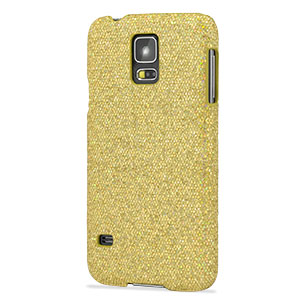Samsung Galaxy S5 Glitter Case - Gold