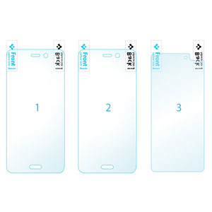 Spigen Full body Crystal Amazon Fire Phone Screen Protector - 3 Pack