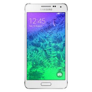 SIM Free Samsung Galaxy Alpha 32GB - White