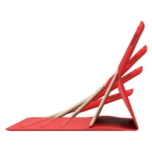 Logitech Create Any Angle iPad Pro Stand Case - Rood 2