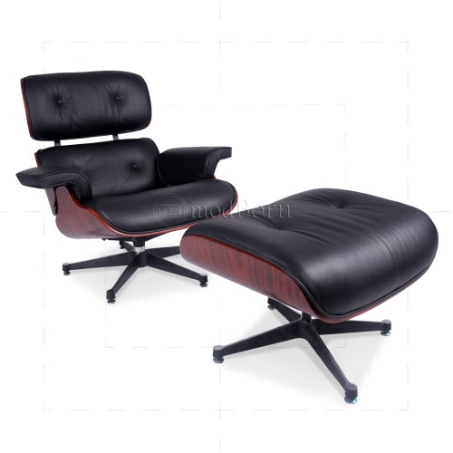 Medium Crop Of Eames Style Chair And Ottoman